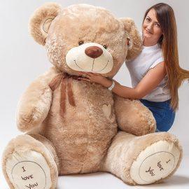 МИШКА I LOVE YOU 190 см