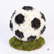 купить футбольный мяч из цветов