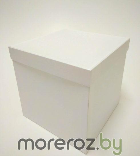 купить белую квадратную коробку
