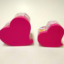 купить коробку подарочную в форме сердца