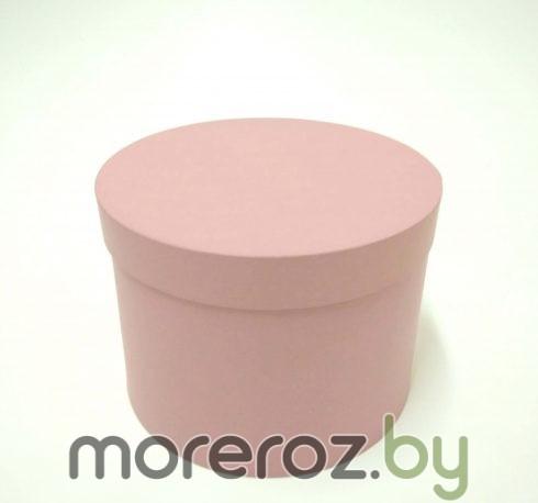 купить нежно розовые круглые коробочки