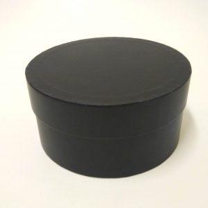 купить чёрную шляпную коробку
