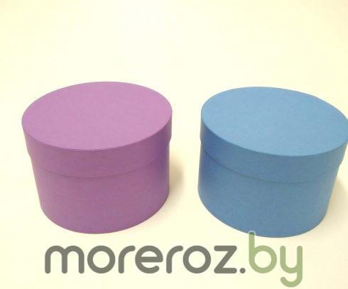 купить круглые шляпные коробки необычного цвета