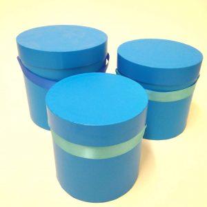 купить синие подарочные коробки