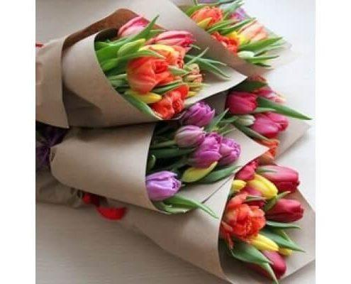 Купить букет тюльпанов