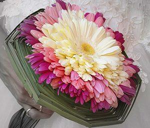 букет невесты гламелия из лепестков