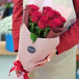 "Букет из 9 роз ""Родос"""
