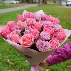 Букет Розовый кварц