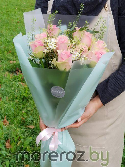 Букет из роз Прекрасная садовница