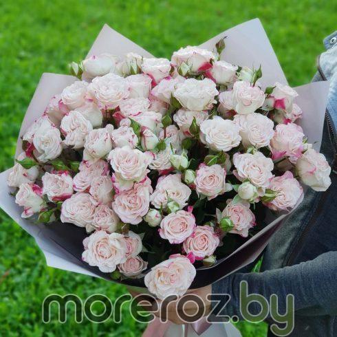 """Букет кустовых роз """"Рефлекс"""""""