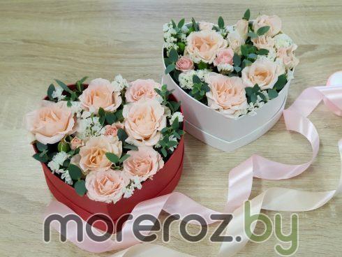 """Коробка """"Сердце из роз"""""""
