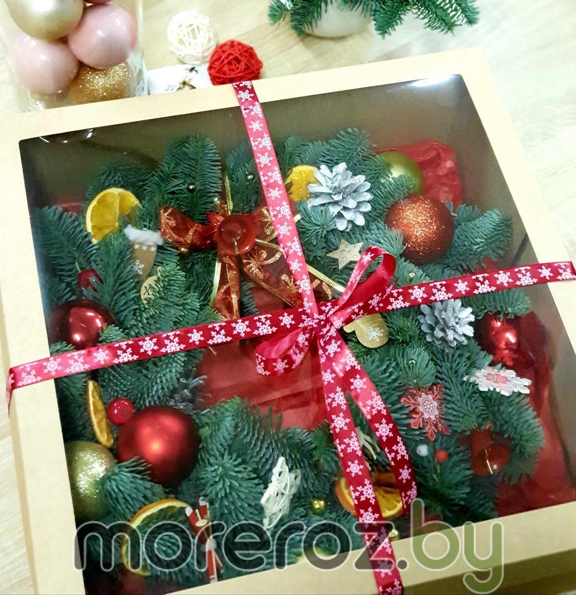 """Венок из Нобилиса """"Рождественское чудо"""""""