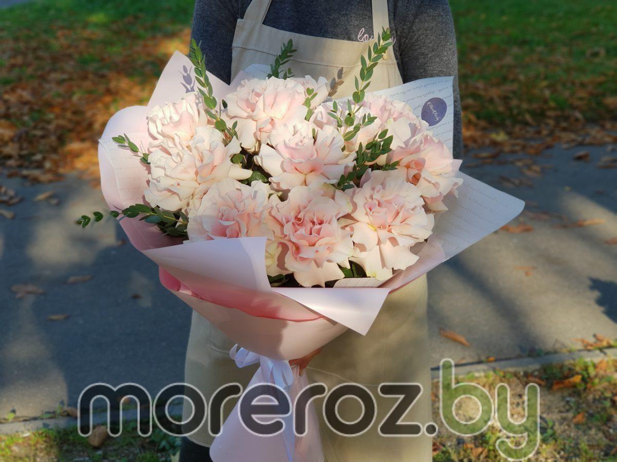 """Букет Французских роз """"Воздушный поцелуй"""""""