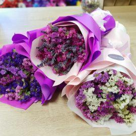 букеты из сухоцветов