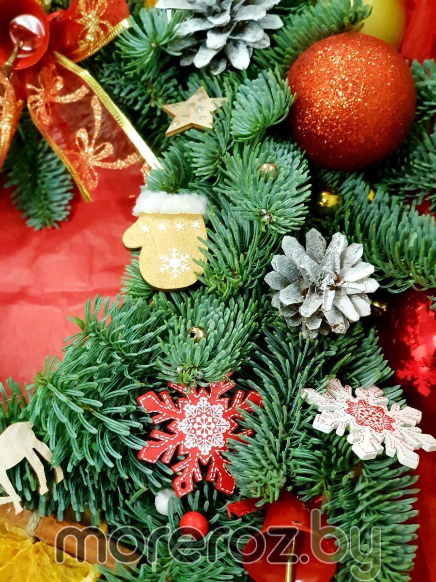 Декор для рождественского венка