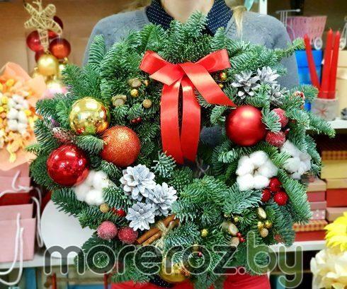 """Рождественский венок """"Сочельник"""""""