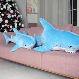"""Мягкая игрушка """"Акула голубая"""" 140 см"""