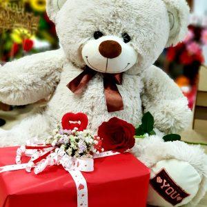"Декор для подарка из сухоцветов ""My love"""