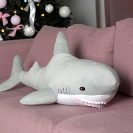 "Мягкая игрушка ""Акула"" серая"