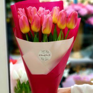 Букет 11 тюльпанов
