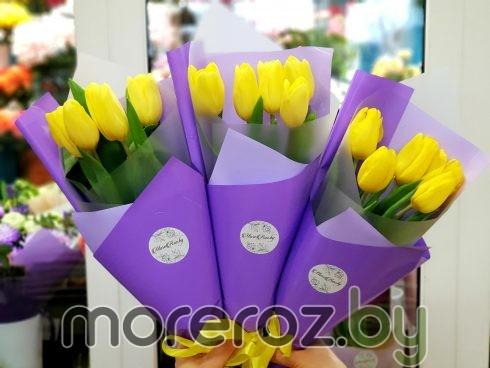 Купитьбукет тюльпановс доставкой по Минску Вы можете на Moreroz.by У нас всегда самые свежие и красивые цветы, которые будут Вас долго радовать.
