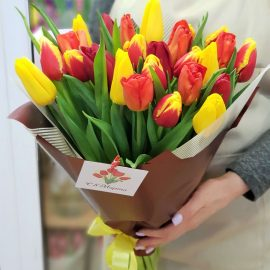 """Букет тюльпанов """"Праздник"""""""