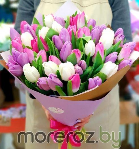 """Букет тюльпанов """"Вешний аромат"""""""