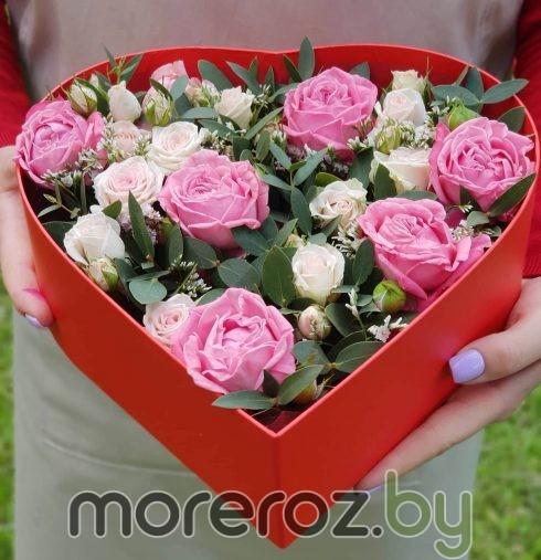 "Коробка-сердце ""Розовые грезы"""